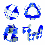Rubik's Twist Keyring screen shot 2