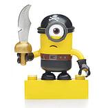 Mega Bloks Despicable Me Minions Series 3 Figure - Stuart (Pirate Outfit) screen shot 1