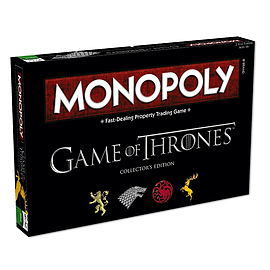 Game Of Thrones Monopoly Board Game (Deluxe Version) Traditional Games