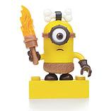 Mega Bloks Despicable Me Minions Series 3 Figure - Stuart (Caveman with Torch) screen shot 1