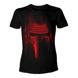 Star Wars Vii The force Awakens Distressed Red Kylo Ren T-Shirt Medium Blac TS204397STW-M Clothing