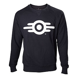 Fallout 4 Vault Tech Logo Crew Neck Sweater Small Black SW340003FOT-S SW340003FOT-S Clothing