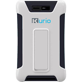 Meroncourt Kurio Touch 4S Tough Case With Kick Stand White/Black 96229 96229 Tablet
