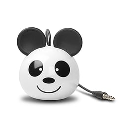 Cellux Panda Stereo/2.0 Rechargeable Mini Speaker 2W White C100-8000-PANDA C100-8000-PANDA Multi Format and Universal
