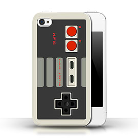 STUFF4 Phone Case/Cover for Apple iPhone 4/4S/Nintendo Classic/Games Console Mobile phones