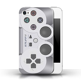 STUFF4 Phone Case/Cover for Apple iPhone 4/4S/Playstation PS1/Games Console Mobile phones