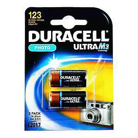 Duracell DL123-X2 Battery DL123-X2 Multi Format and Universal