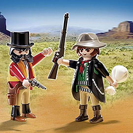 Playmobil Western Sheriff and Outlaw Duo Pack Blocks and Bricks