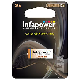 Infapower 23A Alkaline Battery, 12v (L909) Multi Format and Universal