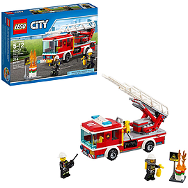 Lego City Fire Ladder Truck 60107 Blocks and Bricks