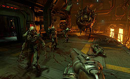 DOOM screen shot 3