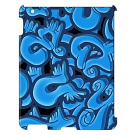 iPad 4 case Wings_blue By Artista Tablet
