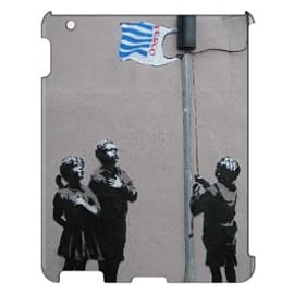 iPad 4 case Very Little Helps By Banksy Tablet