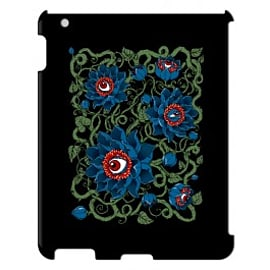 iPad 4 case Eyes Of The Lotus Bw By Corey Courts Tablet