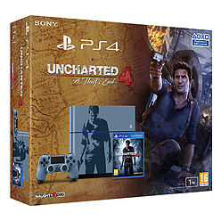 Limited Edition Uncharted 4: A Thief's End PlayStation 4 1TB Console PlayStation 4