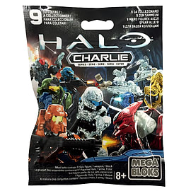 Halo Mega Bloks Series Mystery Packs Charlie Series x1 Blocks and Bricks