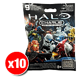 Halo Mega Bloks Series Mystery Packs Charlie Series x10 screen shot 1