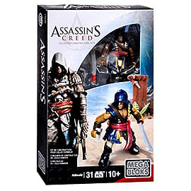 Mega Bloks Assassin's Creed Adewale Figure Set Blocks and Bricks