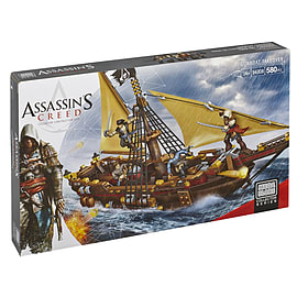Mega Bloks Assassin's Creed Gunboat Takeover Blocks and Bricks