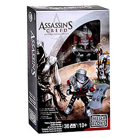 Mega Bloks Assassin's Creed Heavy Borgia Soldier Figure Set Blocks and Bricks
