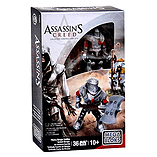 Mega Bloks Assassin's Creed Heavy Borgia Soldier Figure Set screen shot 1