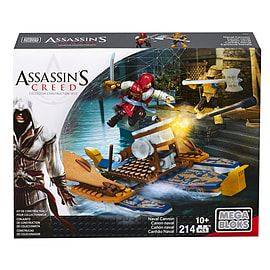 Mega Bloks Assassin's Creed War Boat Building Set Blocks and Bricks