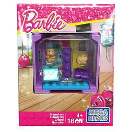 Mega Bloks Barbie Adopt a Pet - Gym Fit Hamsters Blocks and Bricks