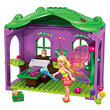 Mega Bloks Barbie Build 'n Play Fairy Hideaway Building Kit screen shot 2