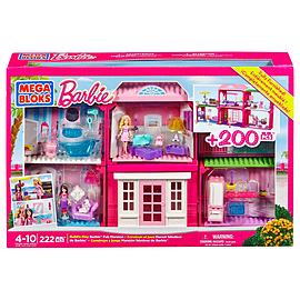 Mega Bloks Barbie Build-N-Play Fab Mansion Blocks and Bricks