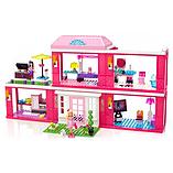 Mega Bloks Barbie Build-N-Play Fab Mansion screen shot 2