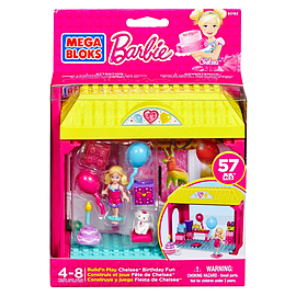 Mega Bloks Barbie Chelsea Birthday Fun Blocks and Bricks
