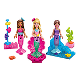 Mega Bloks Barbie Mermaid Party Figure Set screen shot 2