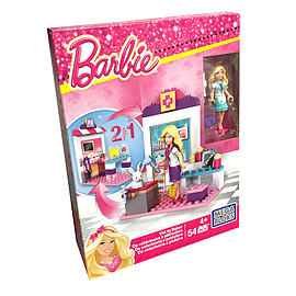 Mega Bloks Barbie Pet Vet to Sweet Baker Play Set Blocks and Bricks