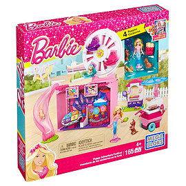 Mega Bloks Barbie Puppy Adventure Festival Toy Blocks and Bricks