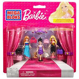 Mega Bloks Barbie's Glam Evening Blocks and Bricks