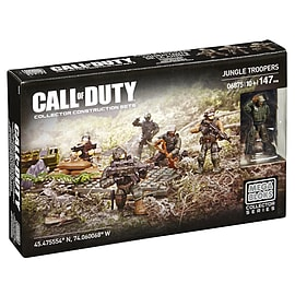 Mega Bloks Call Of Duty Jungle Troopers Blocks and Bricks