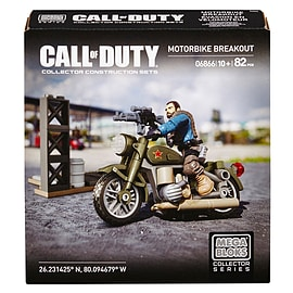 Mega Bloks Call of Duty Motorbike Breakout Collector Construction Set Blocks and Bricks