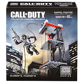 Mega Bloks Call of Duty Rappel Fighter Collector Construction Set Blocks and Bricks