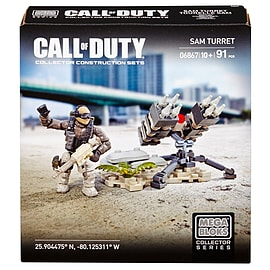 Mega Bloks Call of Duty Sam Turret Collector Construction Set Blocks and Bricks