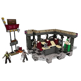 Mega Bloks Call of Duty Zombies TranZit Diner Building Set Blocks and Bricks