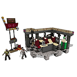 Mega Bloks Call of Duty Zombies TranZit Diner Building Set screen shot 1