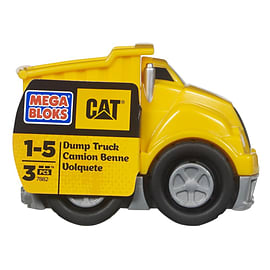 Mega Bloks Cat Dump Truck Blocks and Bricks