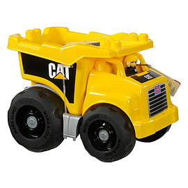 Mega Bloks CAT Large Vehicle Dump Truck Blocks and Bricks