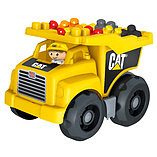 Mega Bloks CAT Large Vehicle Dump Truck screen shot 2