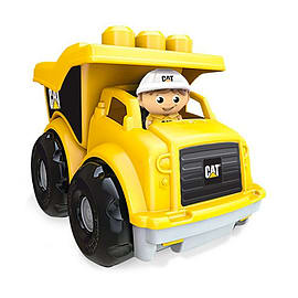 Mega Bloks CAT Lil Dump Truck Blocks and Bricks