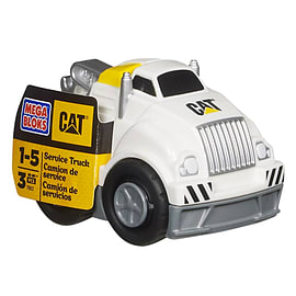 Mega Bloks Cat Service Truck Blocks and Bricks