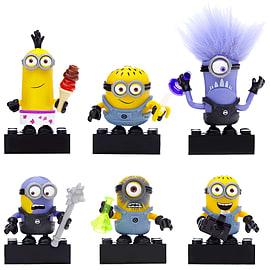 Mega Bloks Despicable Me Minions Series 1 Figure - Complete set of 6 Blocks and Bricks