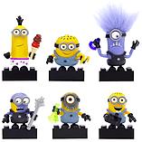 Mega Bloks Despicable Me Minions Series 1 Figure - Complete set of 6 screen shot 1