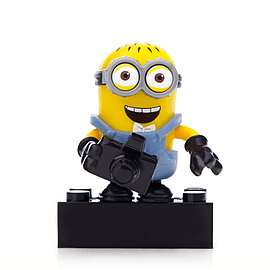 Mega Bloks Despicable Me Minions Series 1 Figure - Phil (With Camera) Blocks and Bricks