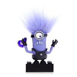 Mega Bloks Despicable Me Minions Series 1 Figure - Steve (Purple Evil Minion) Blocks and Bricks